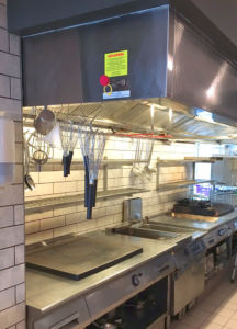 Exhaust Hood with UV-C Technology