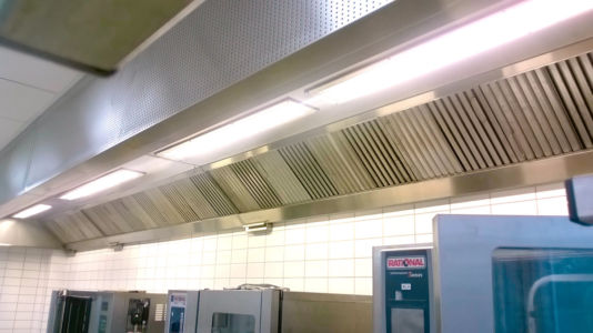 Commercial Kitchen Hood LED Lighting